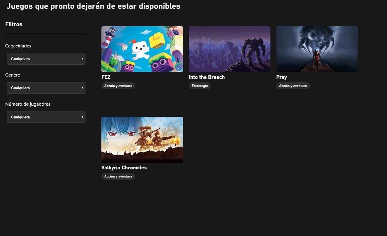 Confirmados nuevos juegos para dejar Xbox Game Pass PC este mes 1