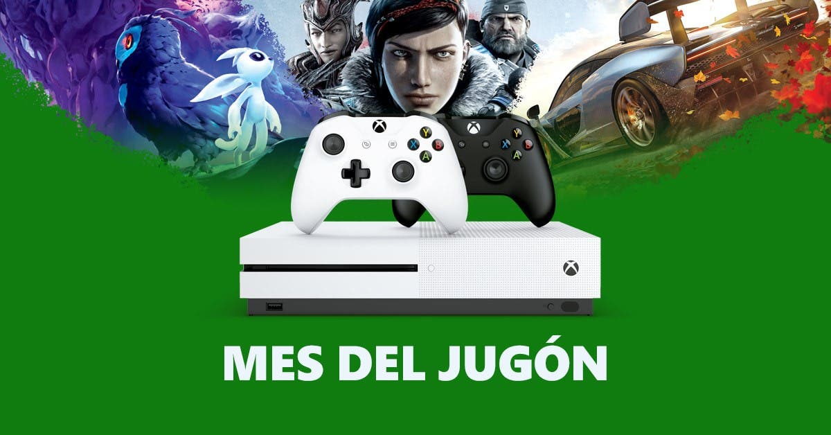 Nuevo Mes del jugón con increíbles ofertas en Xbox One X, Xbox One S y juegos 4