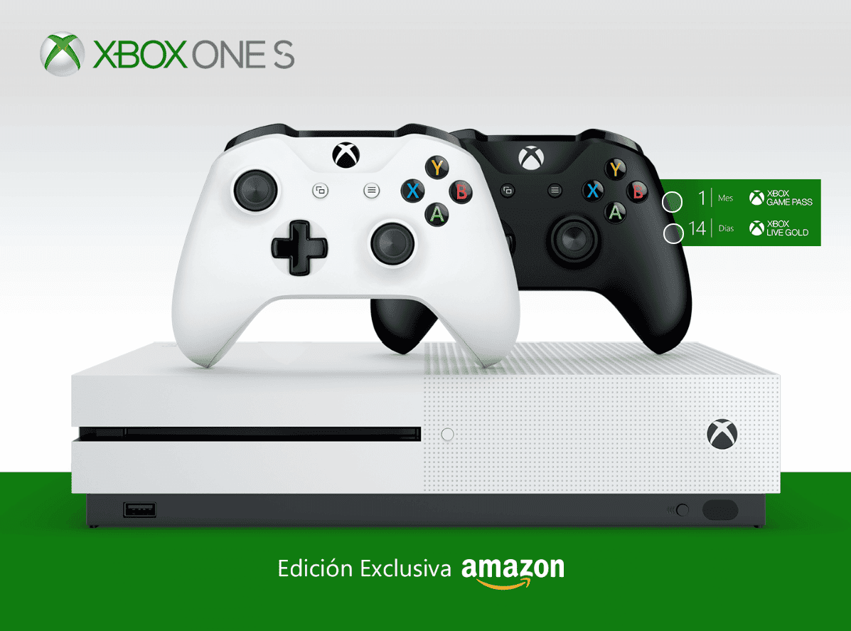 Ofertón en Amazon por el pack exclusivo de la Xbox One S