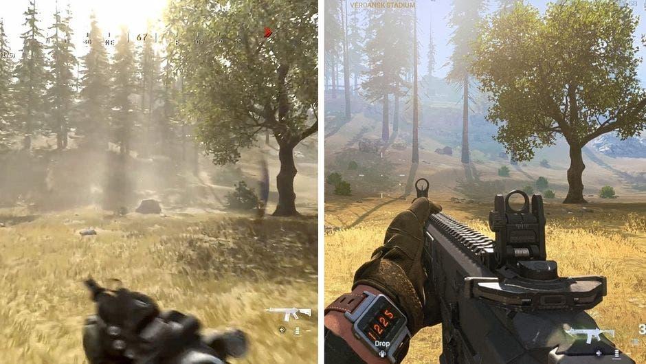 downgrade en Call of Duty Warzone