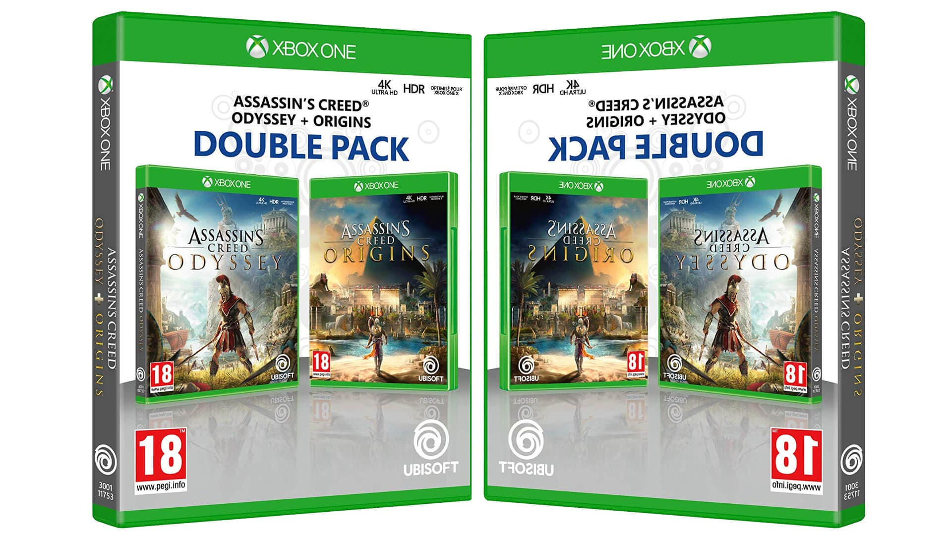 Gran oferta de Doble Pack Assassin's Creed Origins + Odyssey para Xbox 3