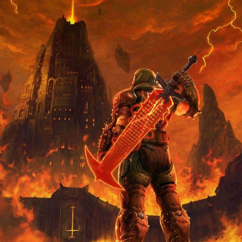 DOOM Eternal rinde homenaje a Final Fantasy VII