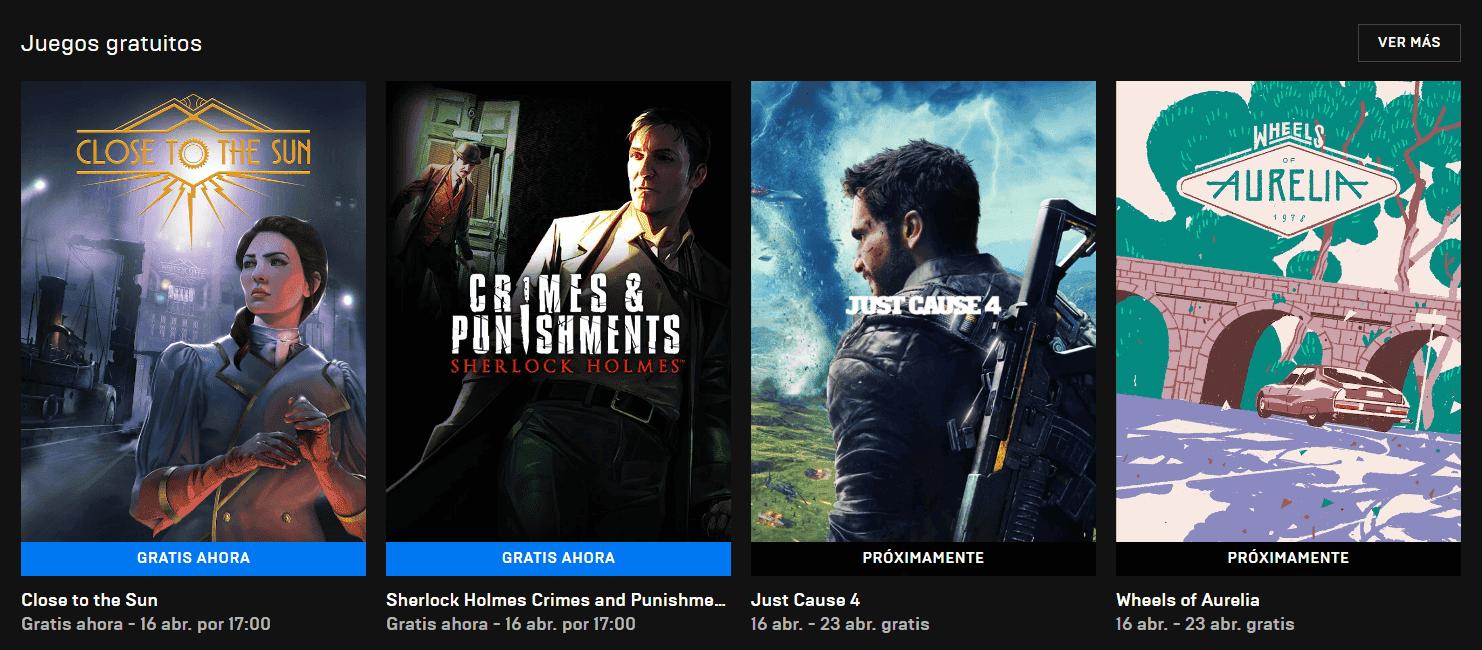 Estos son los 2 nuevos juegos gratuitos de la Epic Games Store