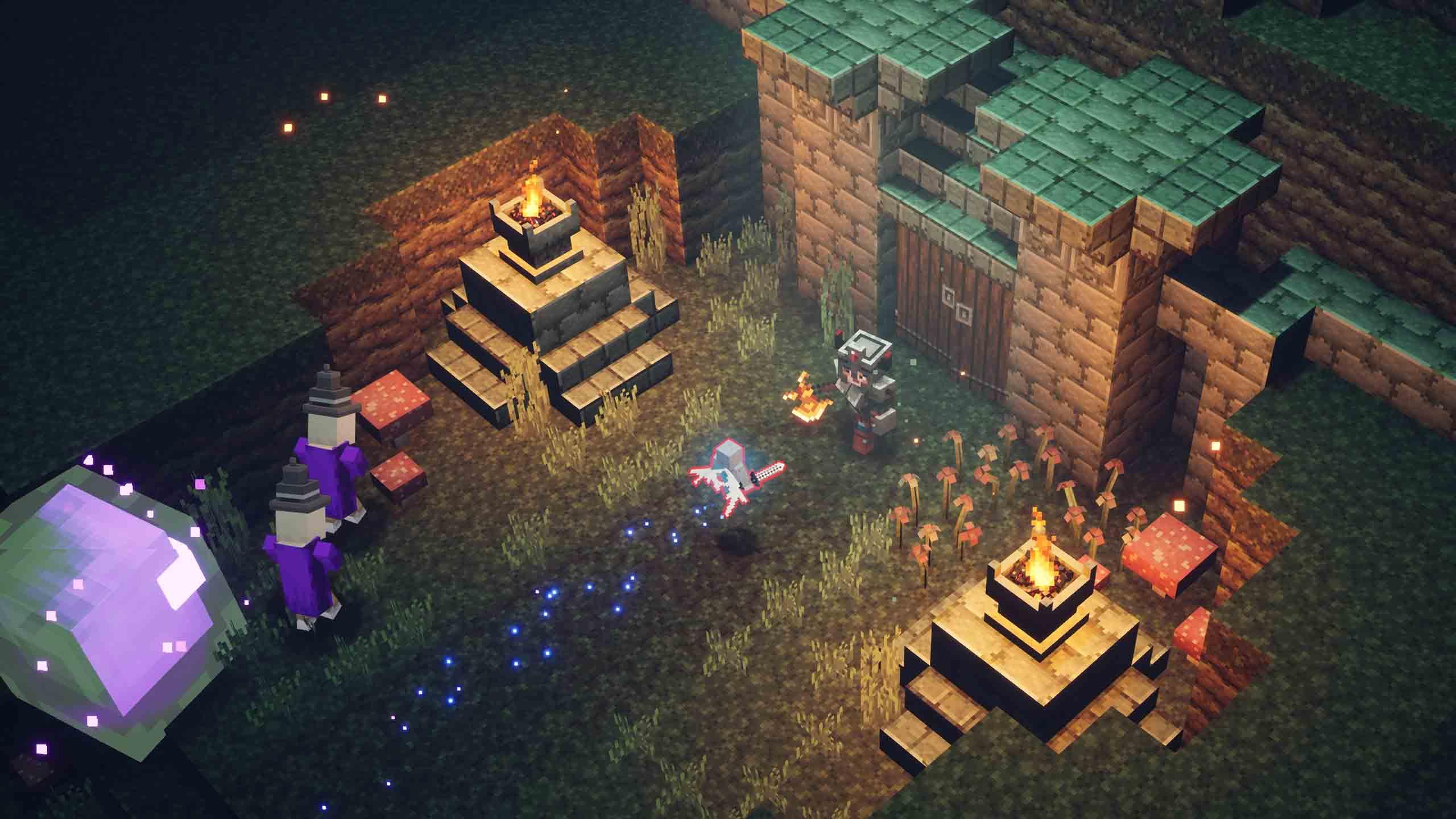 Minecraft Dungeons hará llegar el juego cruzado con la llegada de Howling Peaks 2