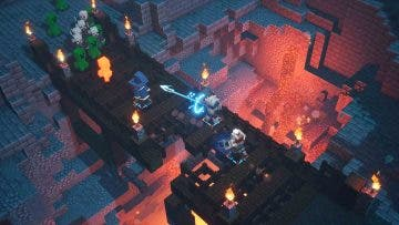 Minecraft Dungeons rinde homenaje a uno de los estaer eggs más famosos de Diablo 2