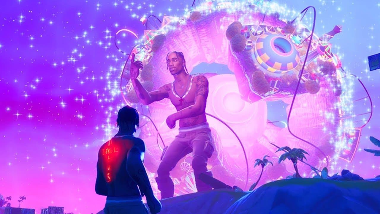 Así fue el concierto de Travis Scott en Fortnite