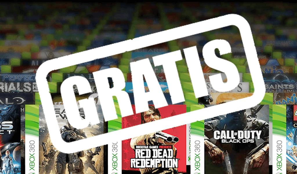 Consigue juegos gratis para Xbox 4