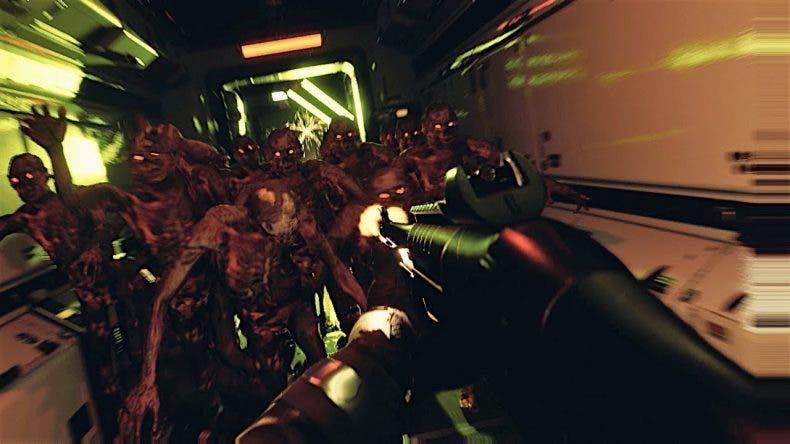 Se muestra el gameplay de Quantum Error, shooter al estilo Dead Space 1