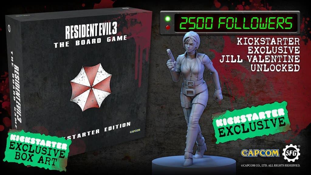 El juego de mesa de Resident Evil 3 llega a Kickstarter 1