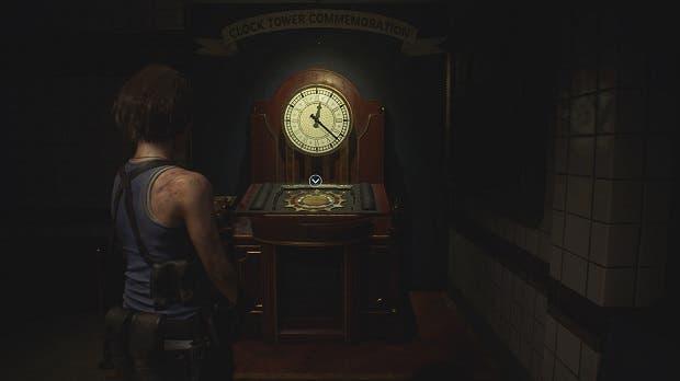 Esta es la solución del puzzle del reloj de Resident Evil 3 1