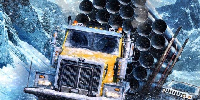 Nuevo mapa y misiones en la primera gran actualización de SnowRunner 1