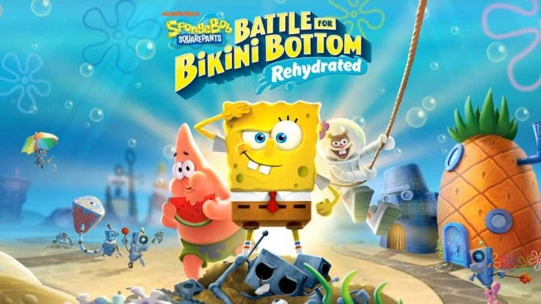 SpongeBob SquarePants Battle for Bikini Bottom – Rehydrated ya tiene fecha de salida