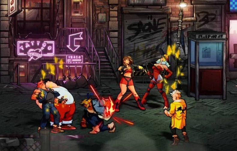 Streets of Rage 4 luce espectacular en su tráiler de lanzamiento 1
