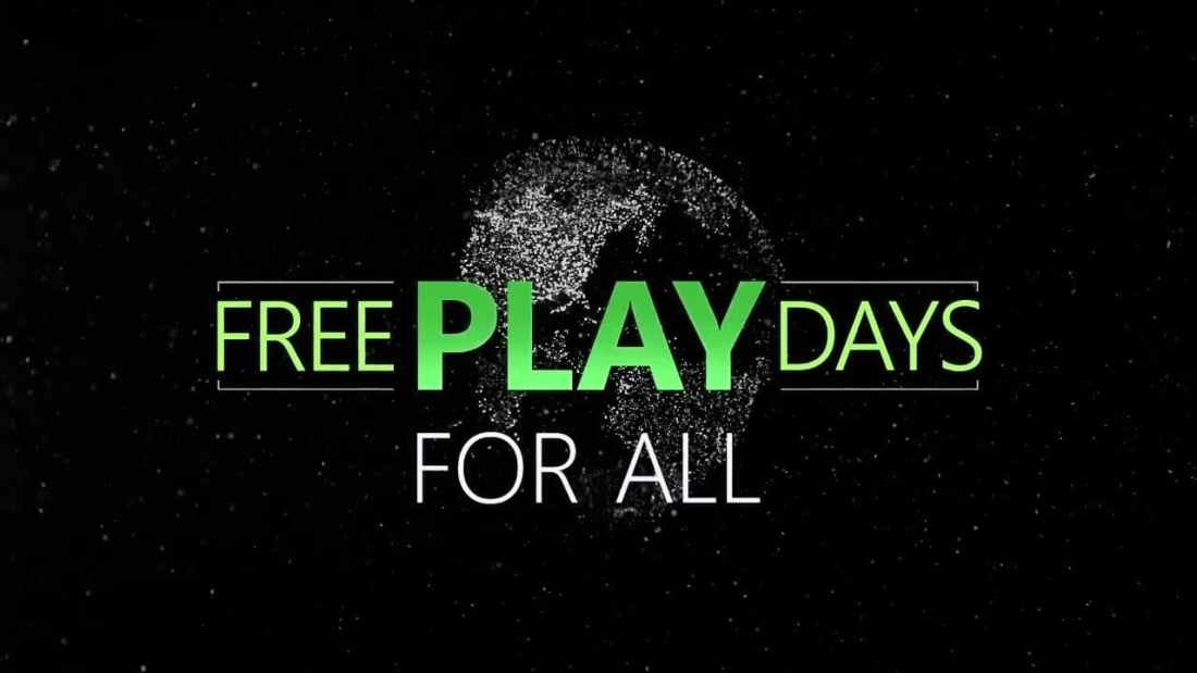 Desvelados los 3 juegos gratuitos para el fin de semana en Xbox One gracias a los Free Play Days