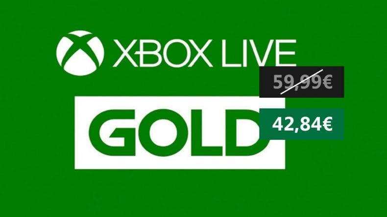 Aprovecha esta oferta de Xbox Live Gold para Xbox 1