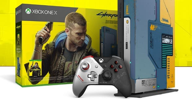 Xbox One X Cyberpunk 2077 Limited Edition Bundle, último pack de Xbox One X limited edition 1
