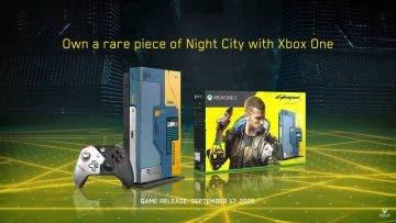 Aprovecha esta oferta de la Xbox One X Cyberpunk 2077 Limited Edition en Media Markt