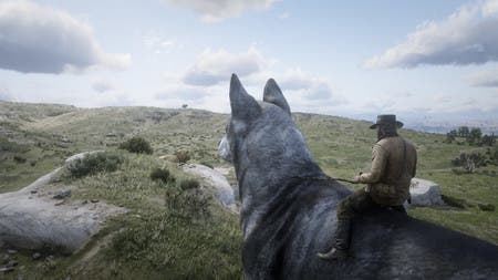 Este mod de Red Dead Redemption 2 permite montar animales gigantes 1