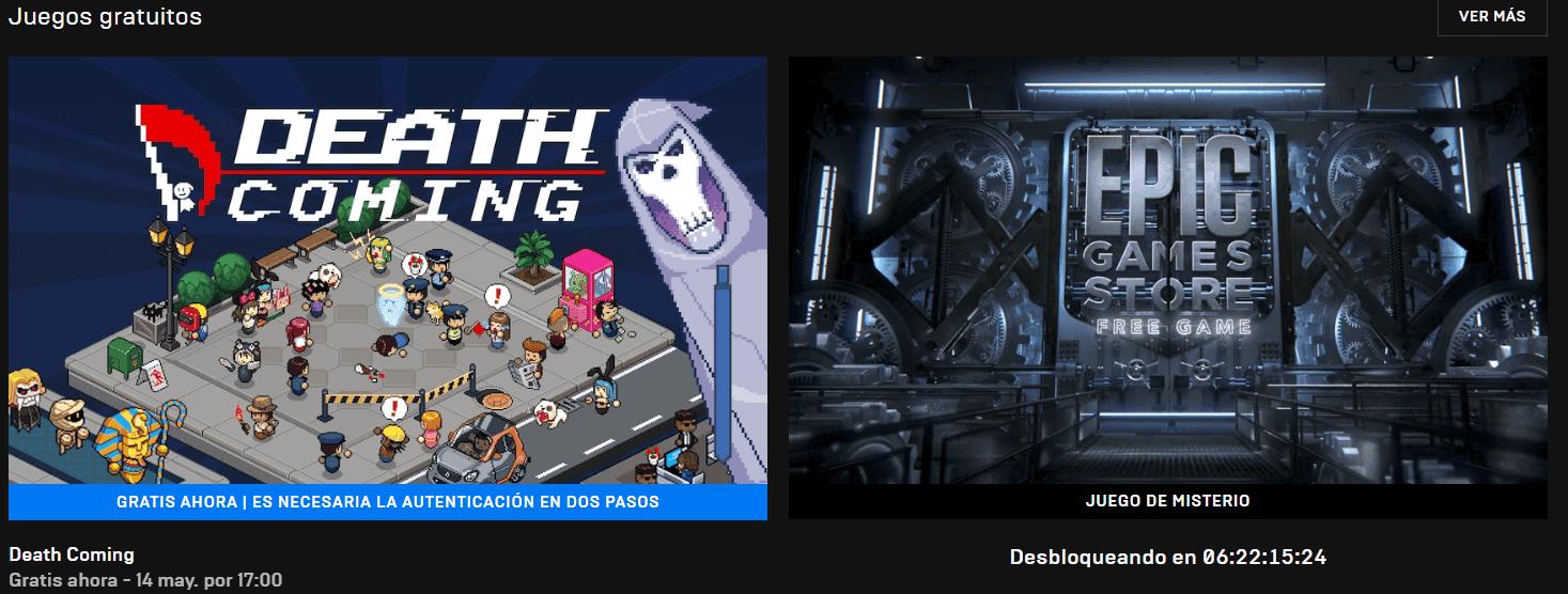 Este es el nuevo juego gratuito de la Epic Games Store, el siguiente está bloqueado con una cuenta atrás