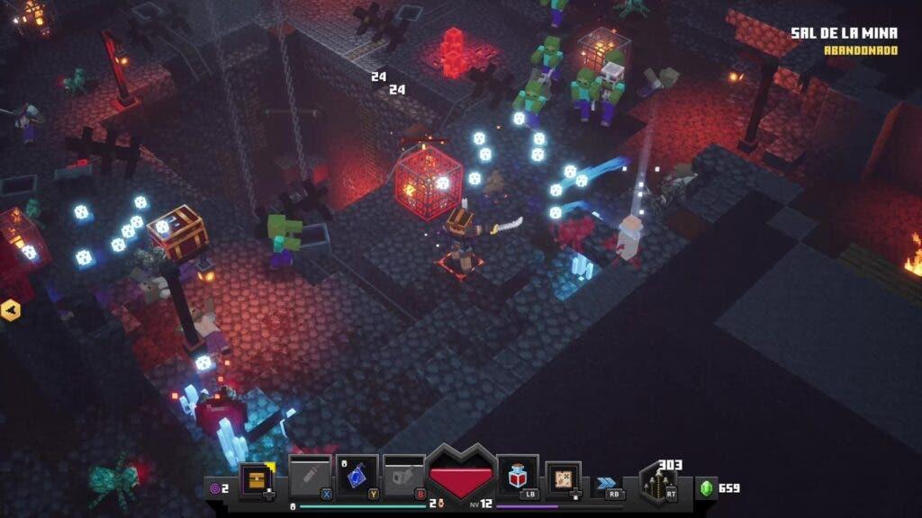 Mazmorra de Minecraft Dungeons