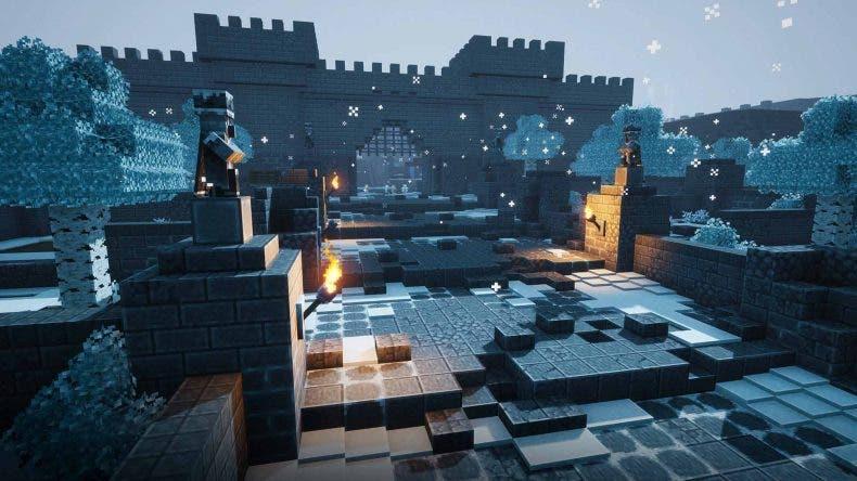 Filtran nuevas imágenes desvelando los mapas de los DLC de Minecraft Dungeons 1