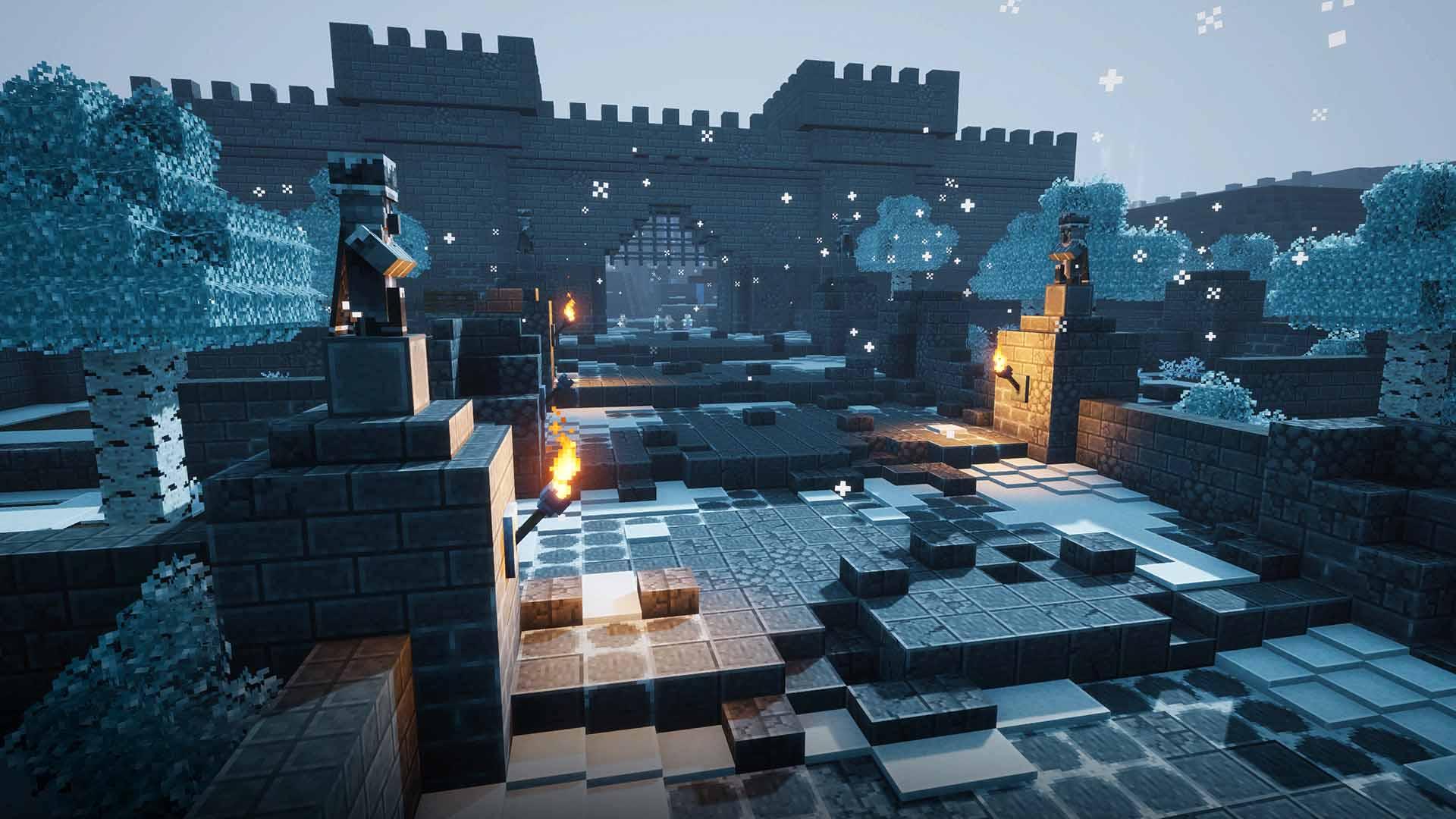 Filtran nuevas imágenes desvelando los mapas de los DLC de Minecraft Dungeons 3