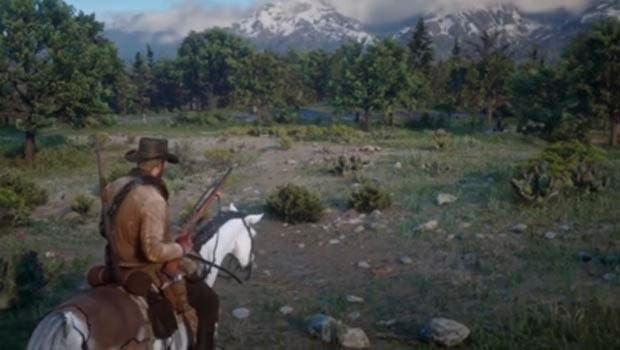 Un jugador de Red Dead Redemption 2 descubre un asombroso comportamiento animal 1