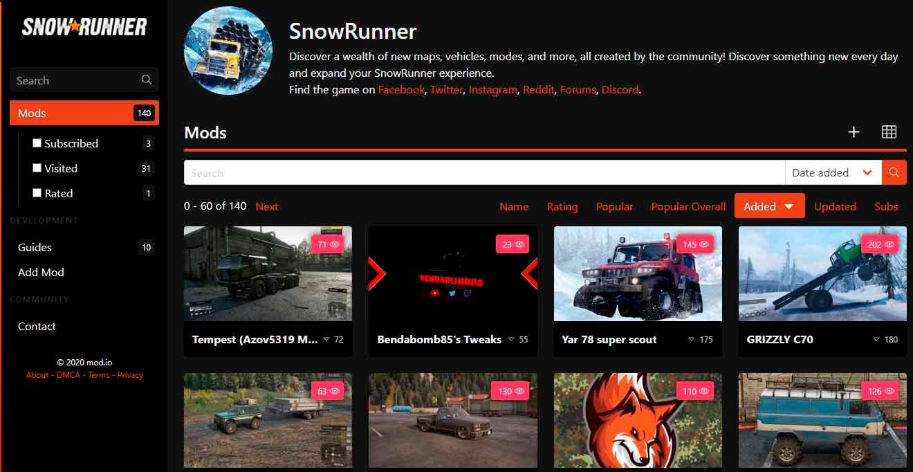 La nueva actualización de Snowrunner incluye nuevo mapa y vehículos 3