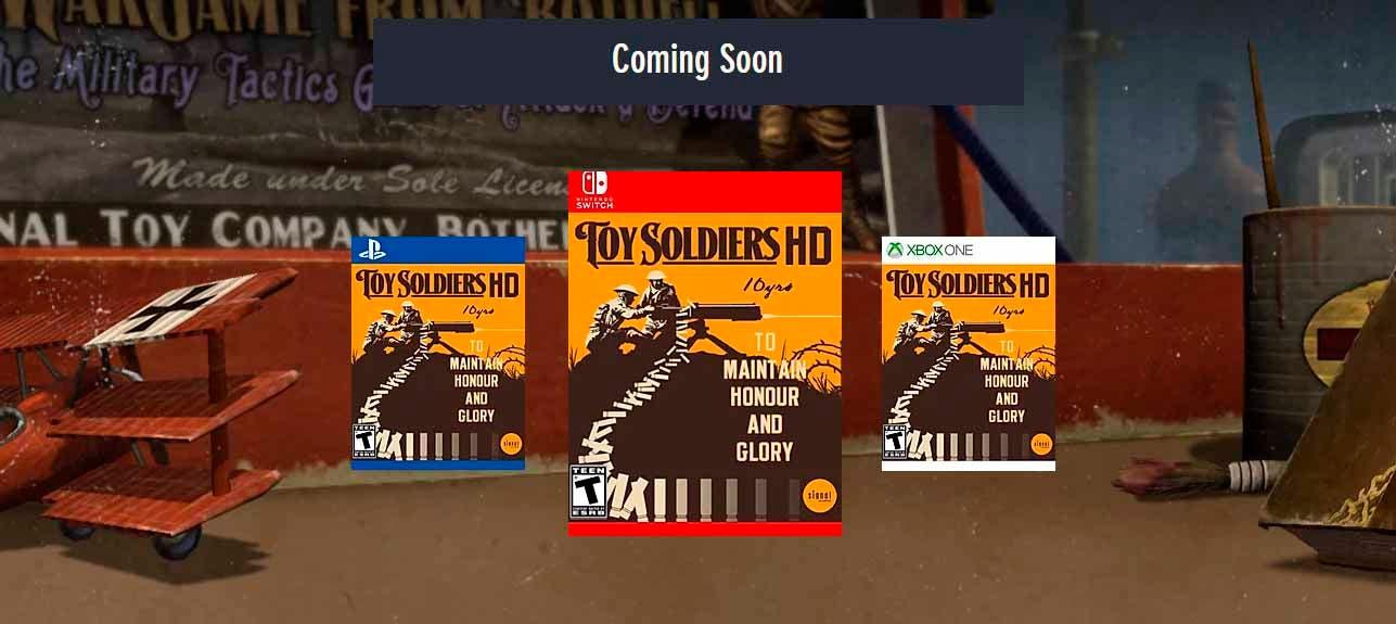 Toy Solders 2: Finest Hour es presentado para llegar el próximo otoño 2