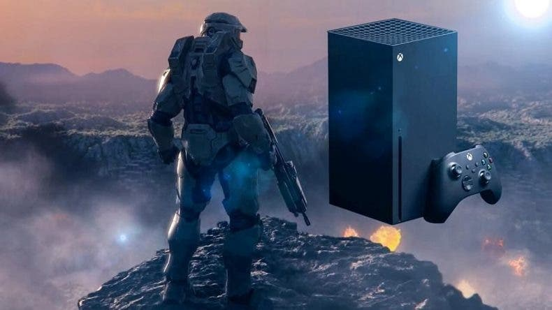 diseño de la Xbox Series X de Halo Infinite