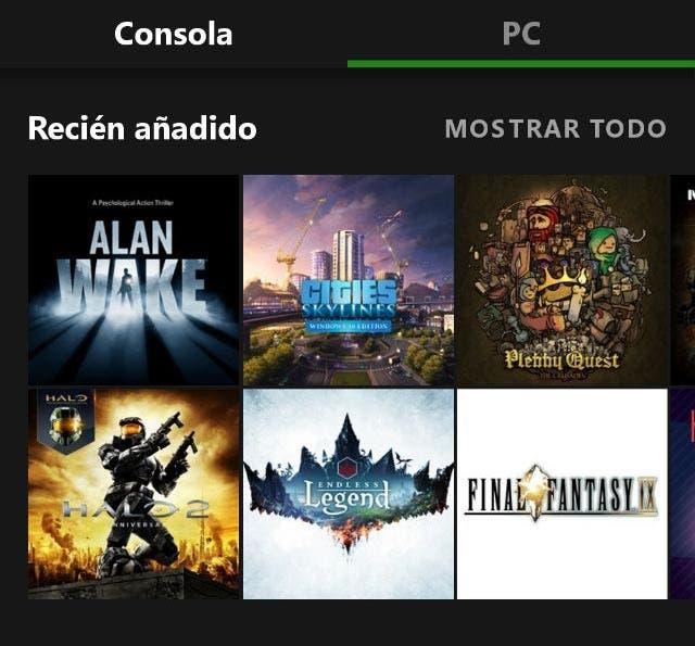 Llegan nuevos juegos a Xbox Game Pass de Xbox One y PC, entre ellos Alan Wake [ACTUALIZADA] 1