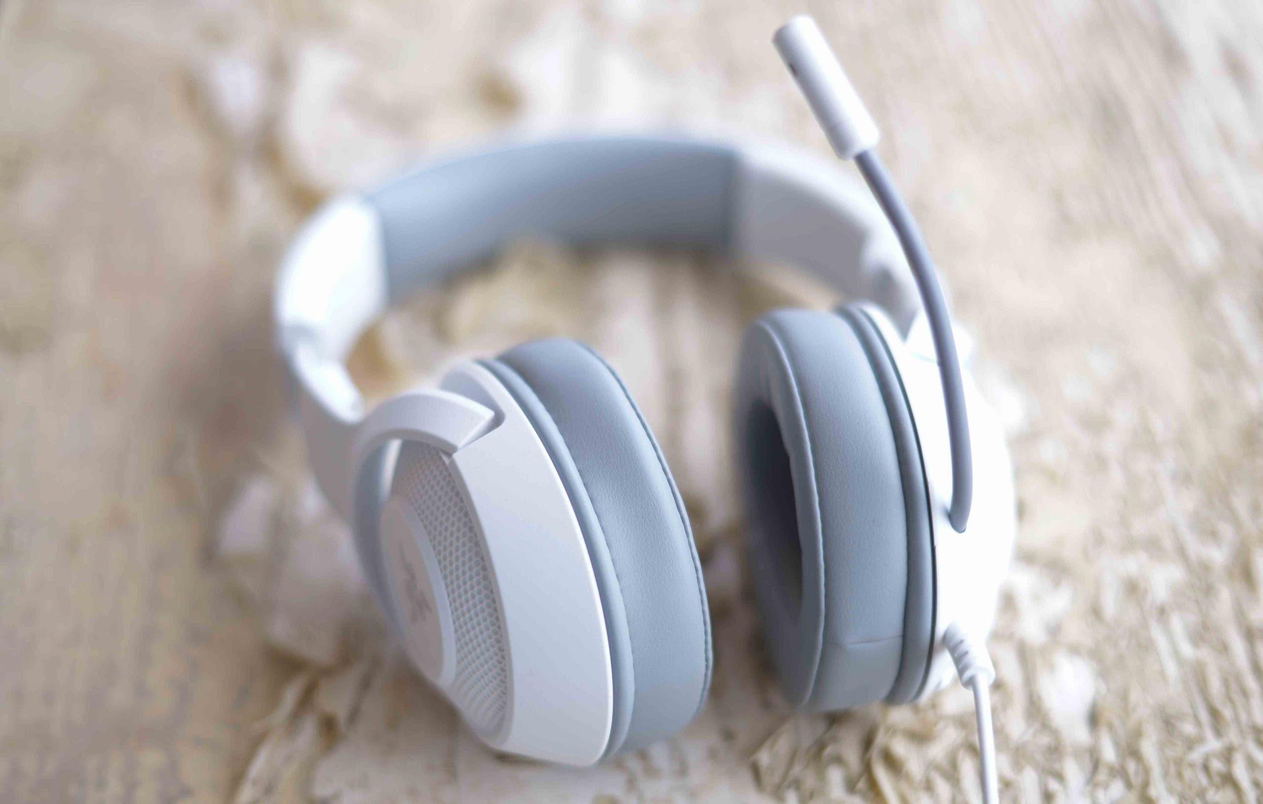 Análisis de los auriculares Razer Kraken X Mercury 1