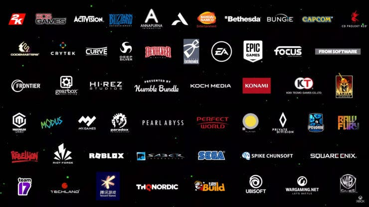 There are 140 channels promoting Xbox Series X games