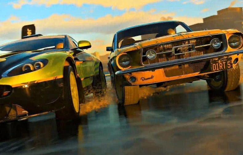 Así es el gameplay de Dirt 5 en Xbox Series S