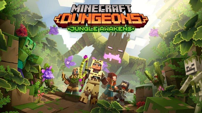 La primera expansión de Minecraft Dungeons ya tiene fecha de lanzamiento