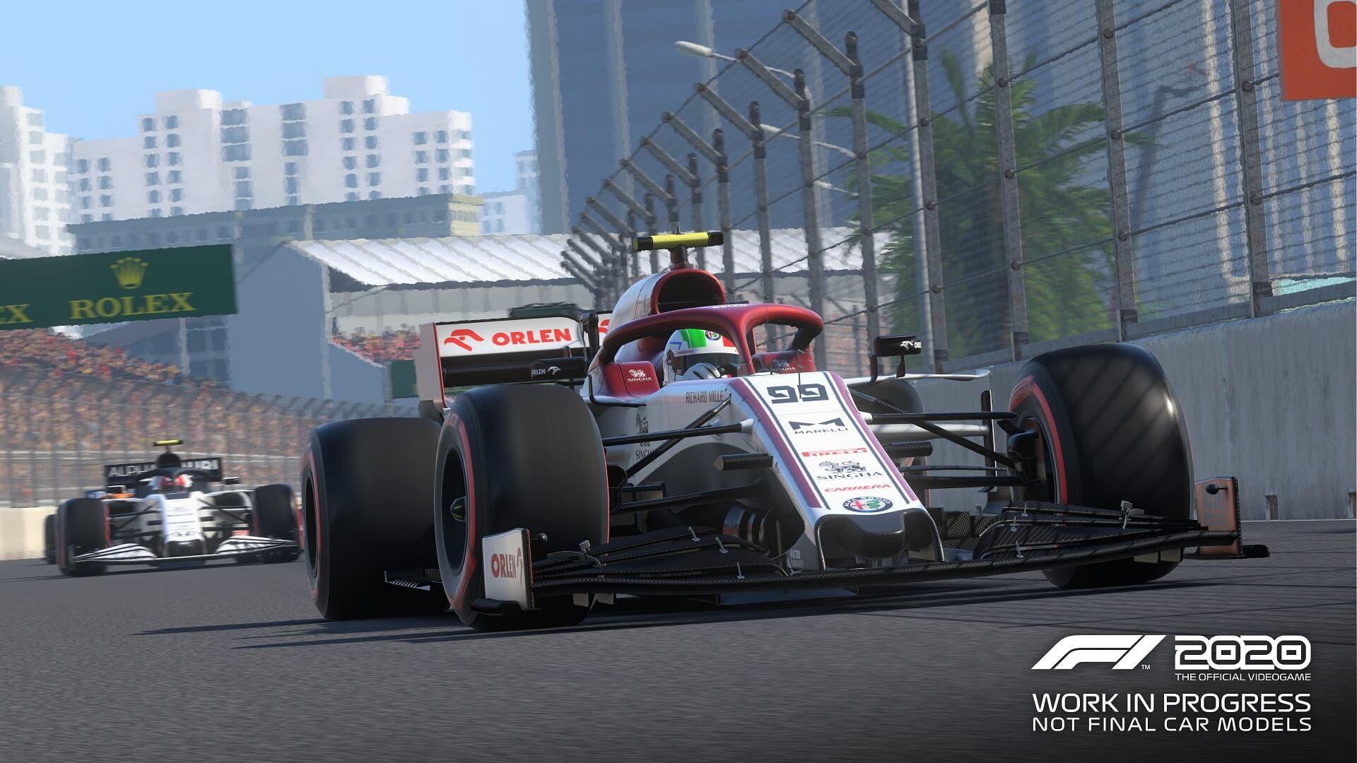 Una vuelta al circuito de Hanoi en F1 2020 con Charles Leclerc 2