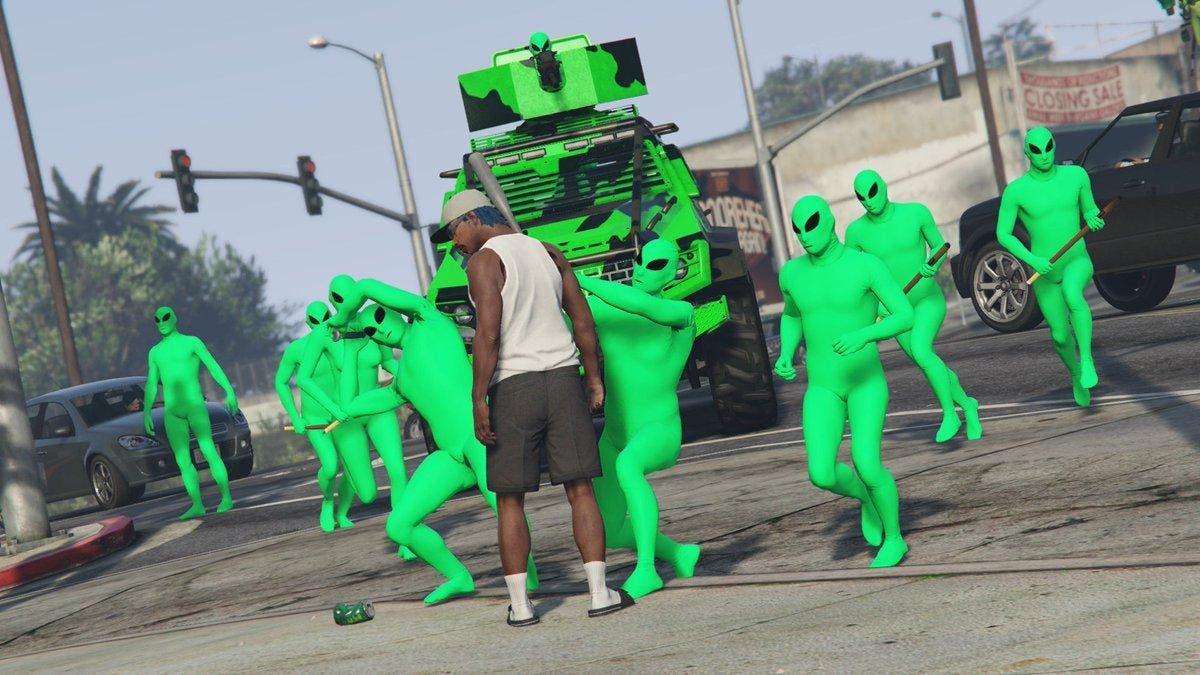 Cómo conseguir el traje de Alien gratis en GTA V Online