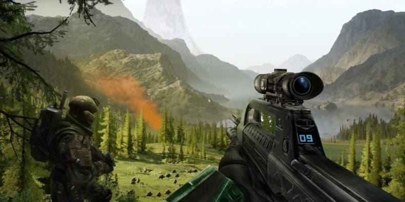 343 Industries muestra como se grabaron los sonidos de bala en Halo Infinite sin usar balas