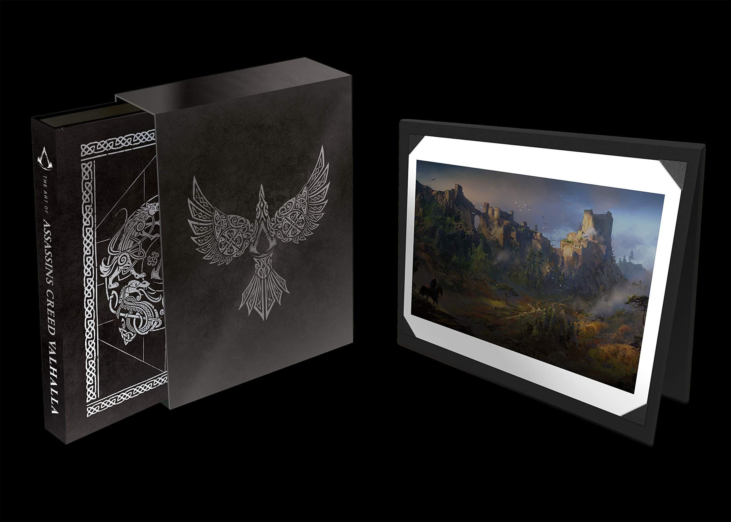 Presentado el espectacular libro de arte de Assassin's Creed Valhalla 1