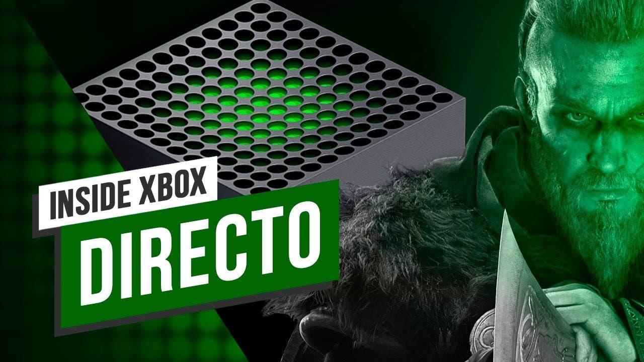Todo lo que se ha anunciado en el Inside Xbox de Xbox Series X