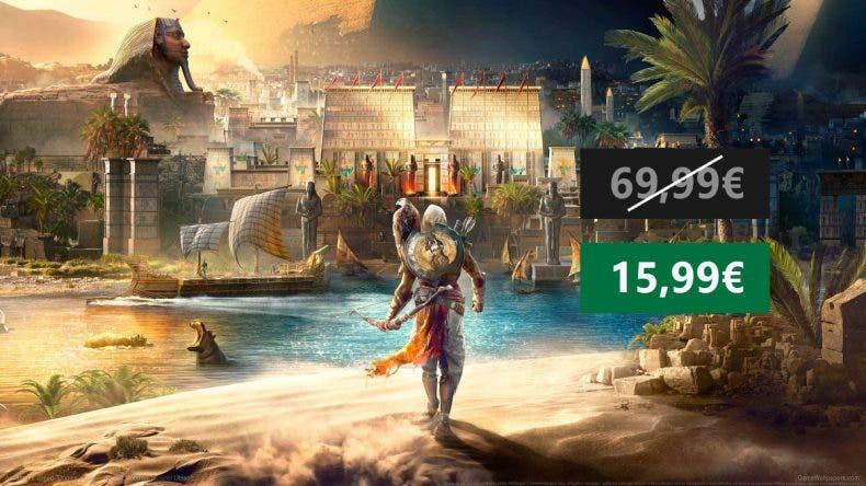 Aprovecha esta oferta de Assassin's Creed Origins para Xbox One 1