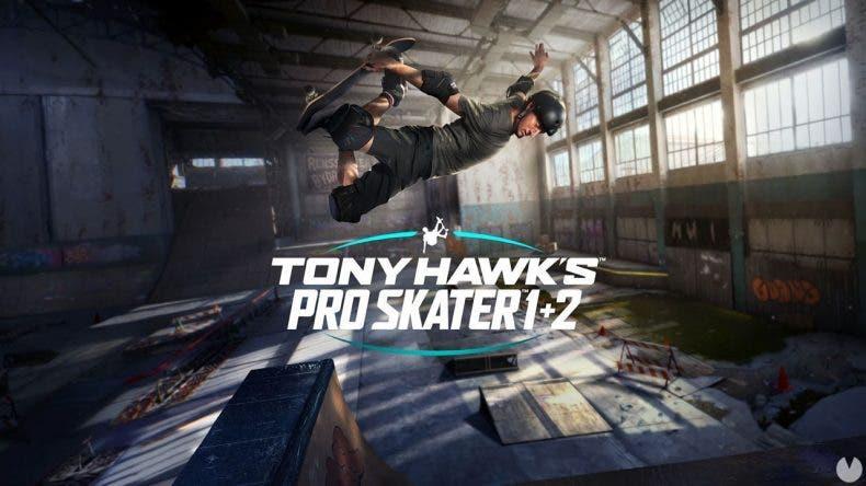 skate con la edición coleccionista de Tony Hawk's Pro Skater 1+2 Remaster