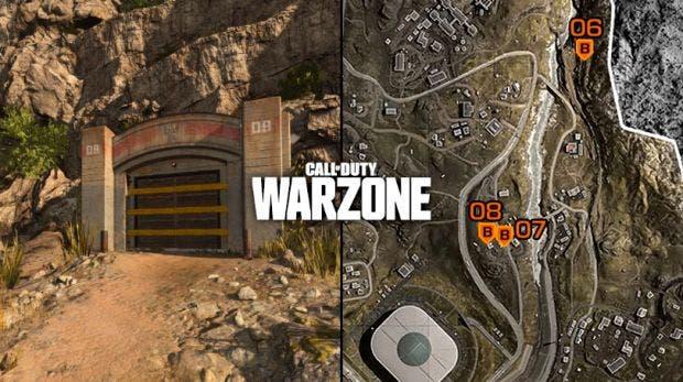 Todas las ubicaciones de los 11 búnkeres secretos en Call of Duty Warzone 1