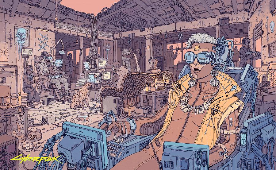 Consigue gratis artes conceptuales y mucho más con la Goodies Collection de Cyberpunk 2077