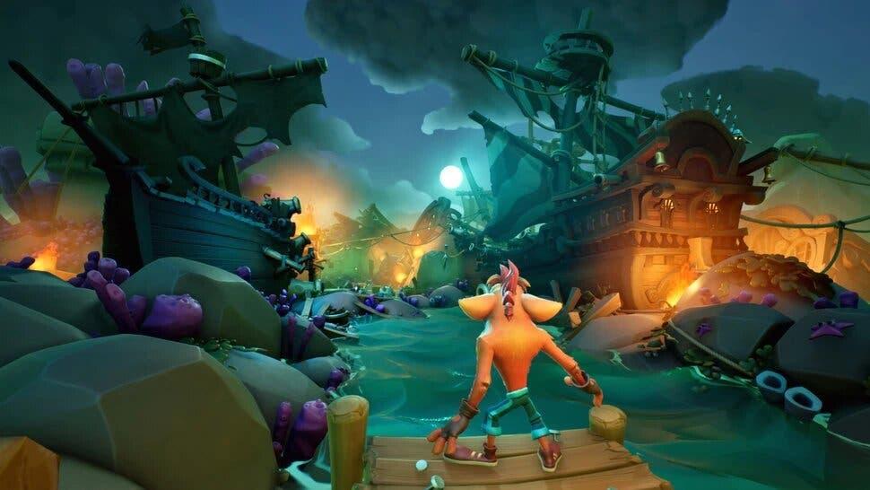 Nuevos detalles de Crash Bandicoot 4 It's About Time