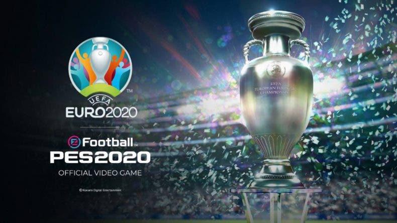 Ya disponible de forma gratuita UEFA EURO 2020 en eFootball PES 2020 1