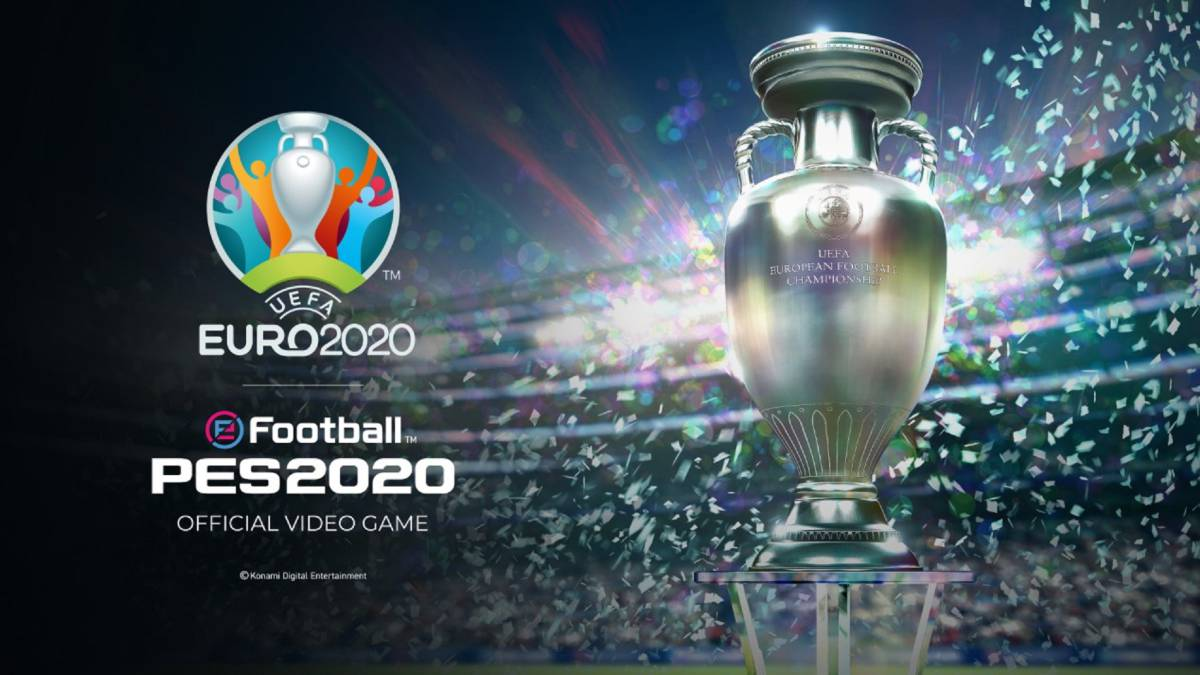 Ya disponible de forma gratuita UEFA EURO 2020 en eFootball PES 2020 10