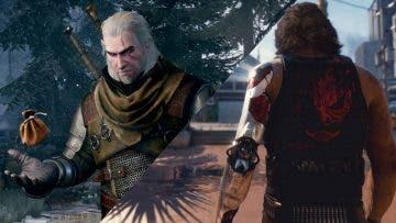 como crear a Geralt de Rivia en Cyberpunk 2077