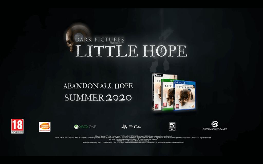 Little Hope se muestra en 8 minutos de gameplay