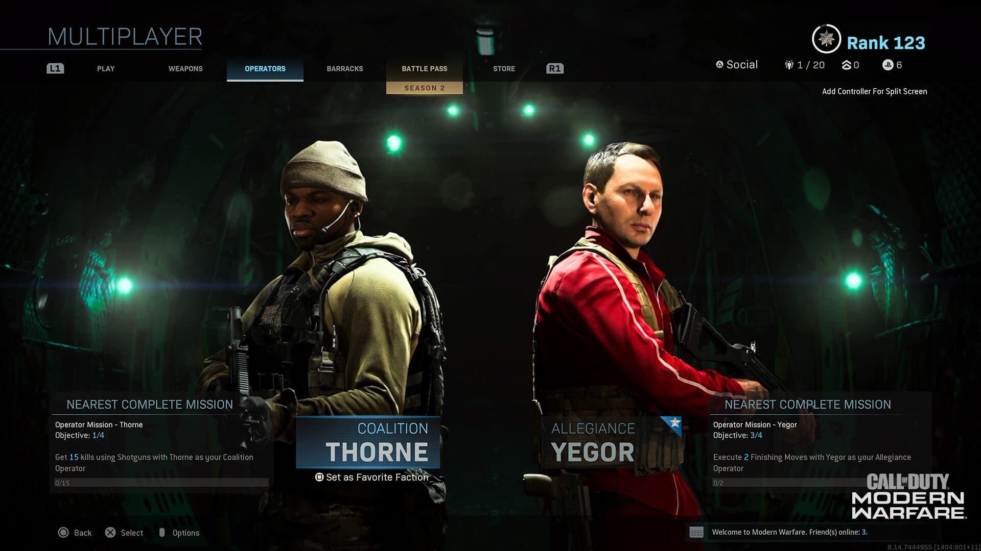 skin de Yegor gratis en Warzone y Modern Warfare